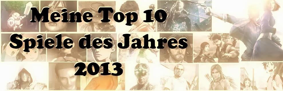 Meine Top 10 Spiele des Jahres 2013
