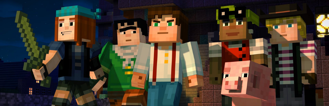 Review: Minecraft Story Mode (Episode 1-3)