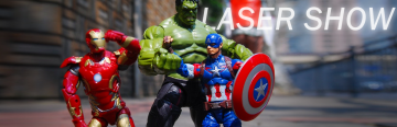 Laser Show 017: Avengers: Endgame